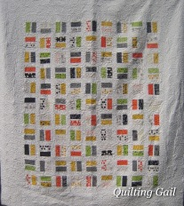 Gina's quilt - comma