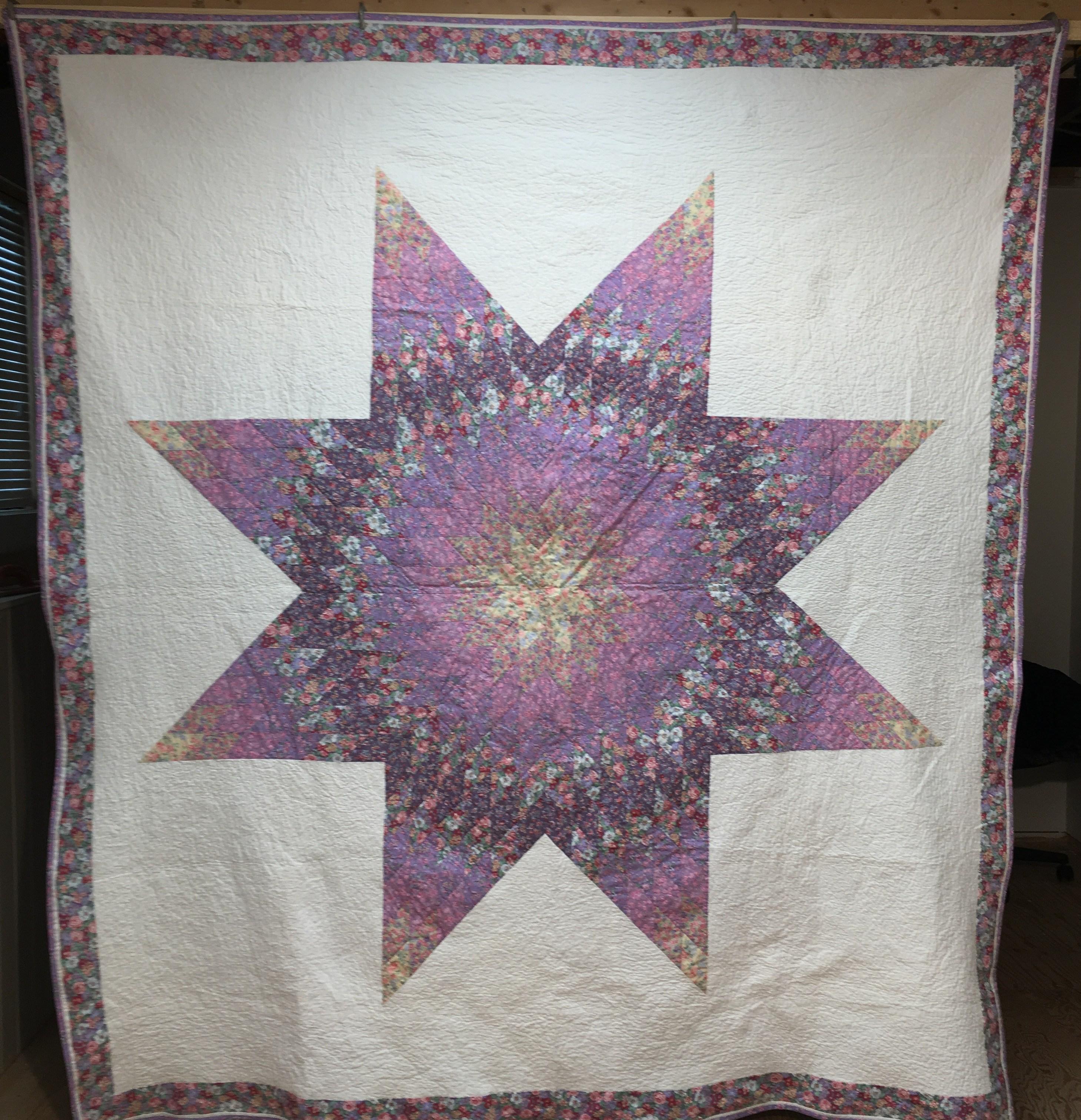 Jan's wedding quilt