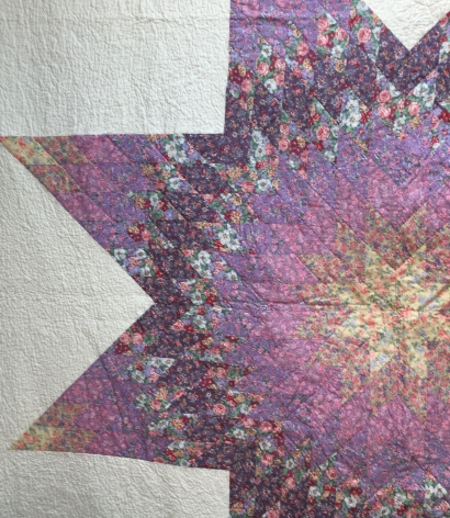 centre of Jan's quilt