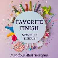 Favorite Finish Monthly Linkup - March 2020